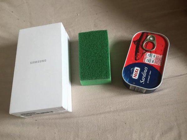 Un anglais commande un Galaxy S6, il reçoit une boite de sardines !