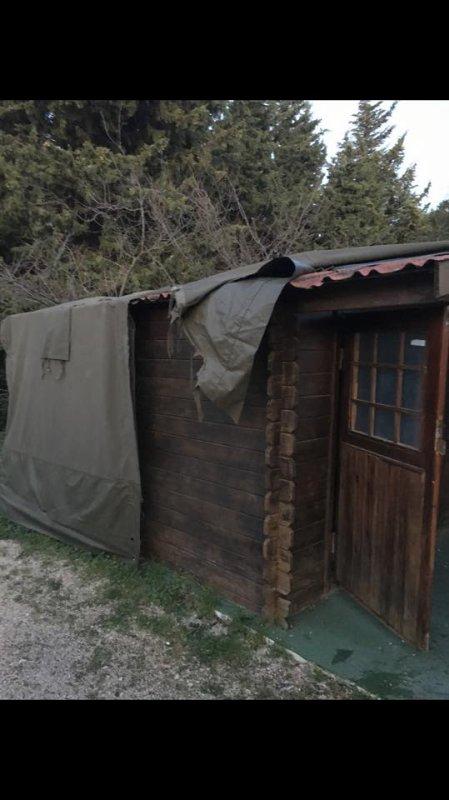 La fameuse cabane de Jul