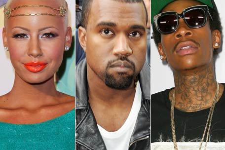 Kanye West vs Wiz Khalifa : Amber Rose entre dans la danse et humilie Kanye !