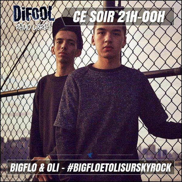 Ce soir, Difool reçoit BIGFLO & OLI