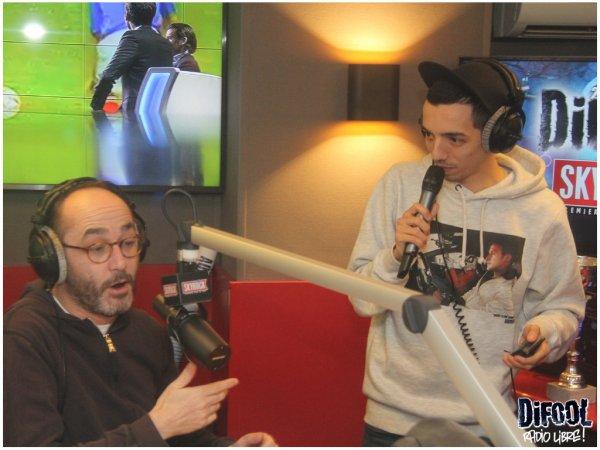 """Bigflo et Oli dans la Radio Libre pour présenter leur nouveau son """" Mytho"""""""
