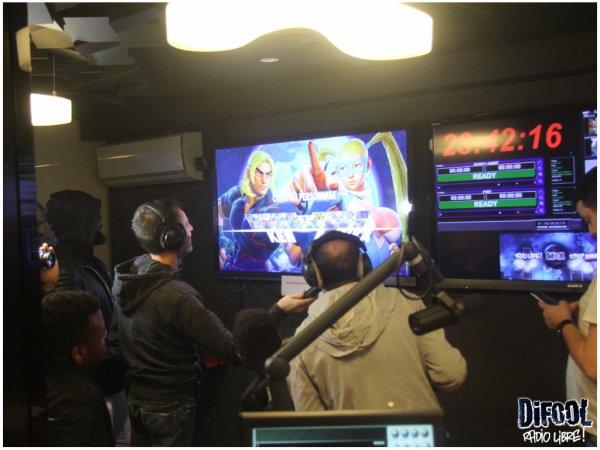 Soirée Street Fighter V dans la Radio Libre de Difool !
