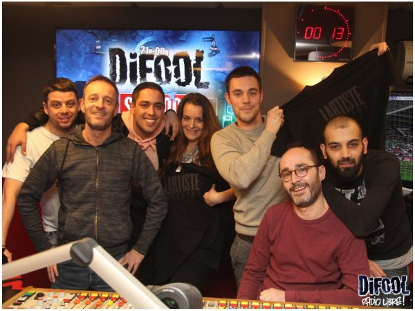 L'Artiste dans la Radio Libre de Difool !