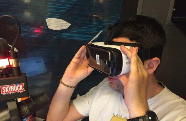 Cédric test le Samsung Galaxy S7 avec le GearVR dans la RadioLibre