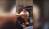 VIDEO - Il oublie d'éteindre son projecteur et regarde des images de lingerie en cours !