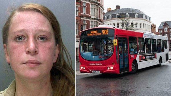 Un prisonnier tout juste libéré fait l'amour à sa copine dans un bus devant des enfants !