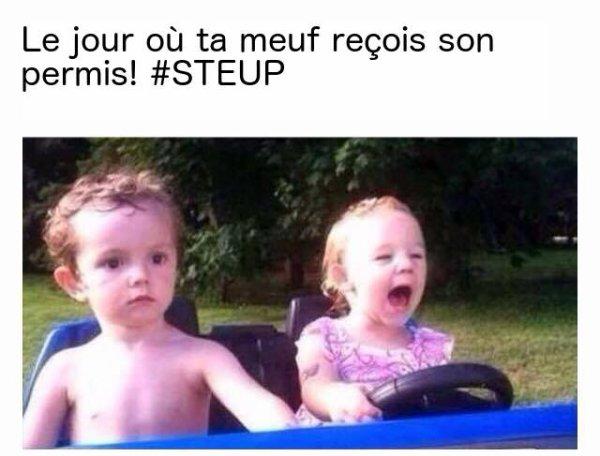 STEUP et Difool t'offrent ton permis de conduire !