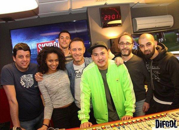 Salomé Je t'aime était avec nous dans la Radio Libre !