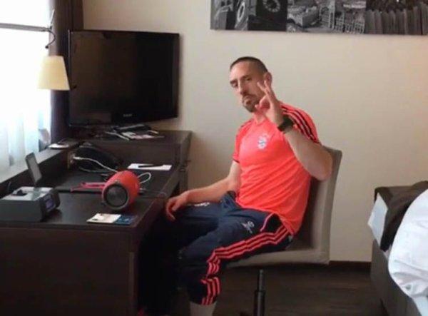 VIDEO - Franck Ribéry s'ambiance sur un titre de Maître Gims !