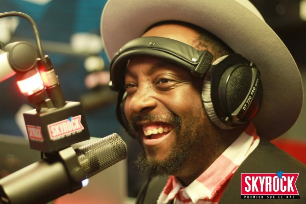 Will.i.am dans la Radio Libre De Difool !