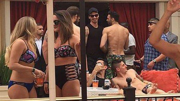 PHOTOS - Zlatan Ibrahimovic et quelques autres ont passé le week-end à Las Vegas !
