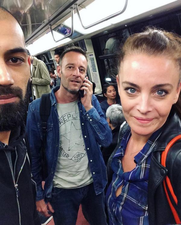 Karim Difool et Marie dans le métro parisien !
