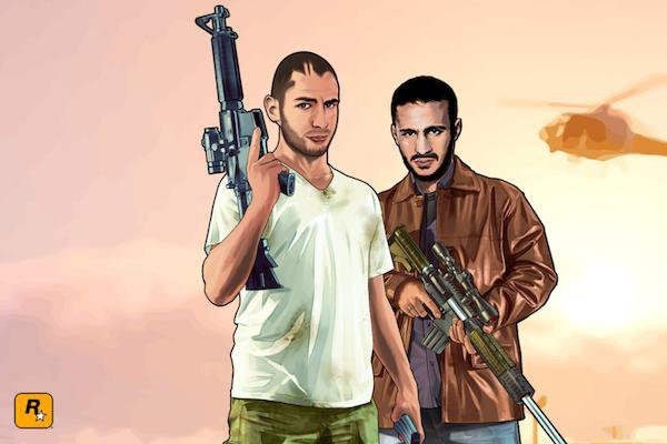 VIDEO - Et si Benzema était le héros de l'univers de GTA V ?