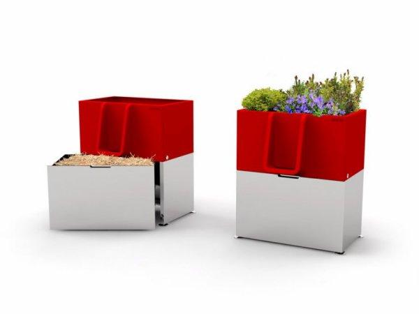 L'Uritrottoir, un urinoir écolo pour des rues propres et fleuries !