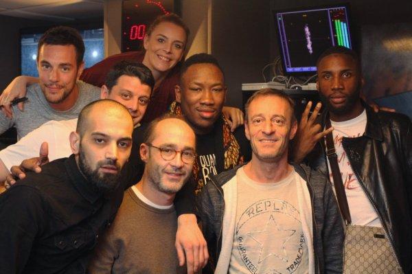 L'équipe de la Radio Libre avec Mokobe et OhPlai !