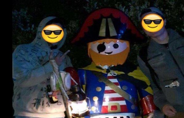 Mais où est passé Pedro, le Playmobil géant kidnappé ?