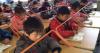En Chine on doit se tenir droit à l'école !