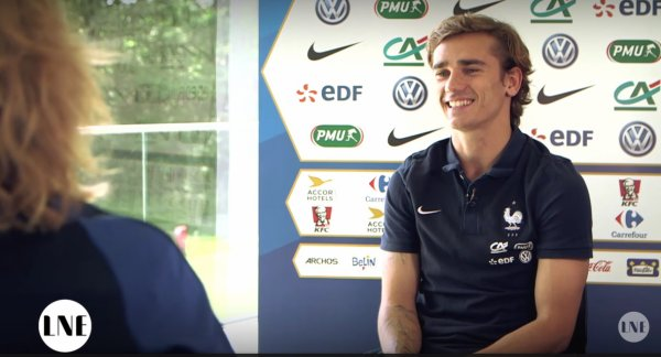 VIDEO - L'interview surréaliste d'Antoine Griezmann !