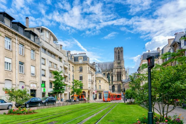 Reims: Nu, il broutait de l'herbe en pleine rue !