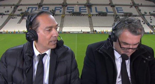 Quand Denis Balbir insulte les joueurs de Leipzig en pensant avoir coupé le micro !