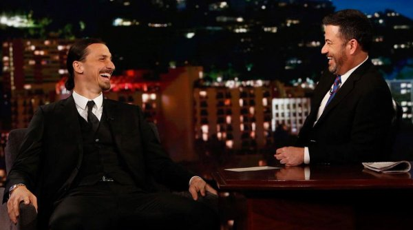 VIDEO - L'interview de Zlatan Ibrahimovic chez Jimmy Kimmel !