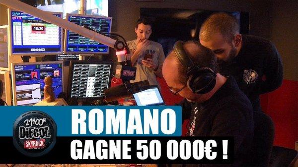 Romano gagne 50 000 ¤ pour son anniversaire