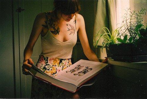 Photo Vintage pour mettre en valeur des Tatouages