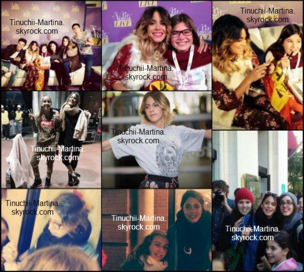 """""""Violetta live"""" le concert en Séville le 17/01/15 et 18/01/15."""
