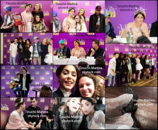 """""""Violetta live"""" le concert à Lisbonne le 24/01/15 et 25/01/15."""