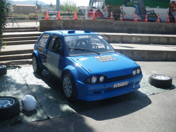 baptéme vehicules de course 1é avril 2012