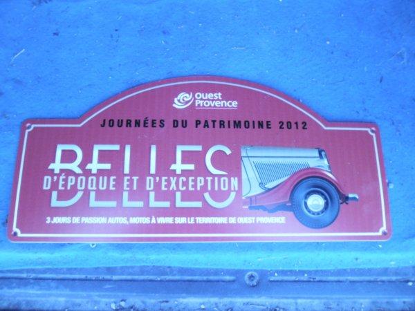 """journée du patrimoine 15/09/2012 """" retro fos """""""