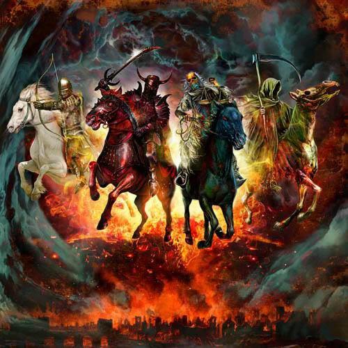 Voici les quatre cavaliers de l'apocalypse