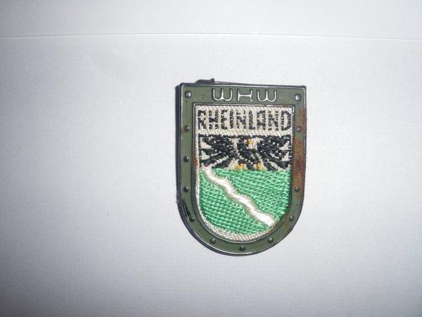 """Badge """"RHEINLAND WHW"""""""