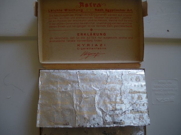 Cigarettes Allemande 1940