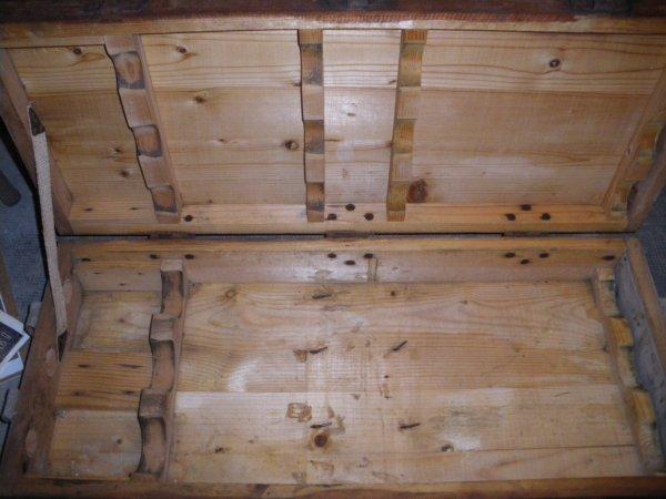 2 caisses bois pour obus All