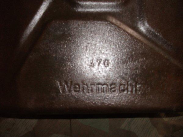 Bidon allemand 20 litres WW2 Krattstoff Wehrmacht 1943