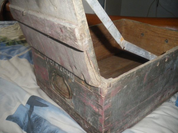 Caisse à outils Allemande WW2