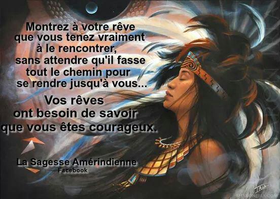 La sagesse amérindienne !!!