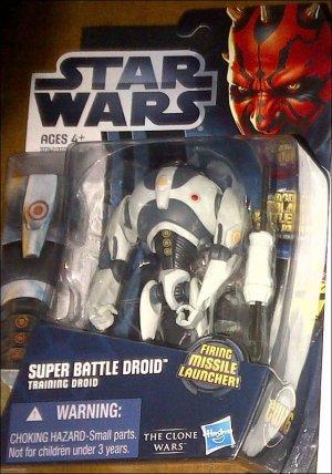 Visuels des figurines du Super Droïde de Combat et de Wolffe !