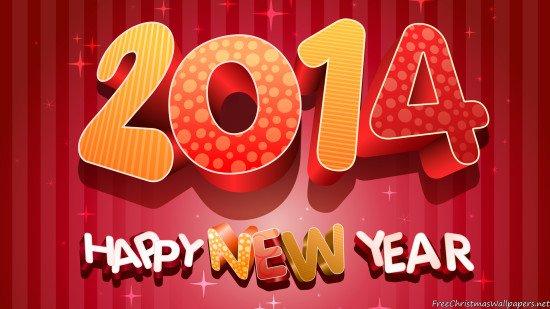 Bonne nouvelle année 2014
