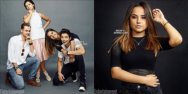 Power Rangers Time : Photoshoot du cast lors du comic con + photos du set du film.