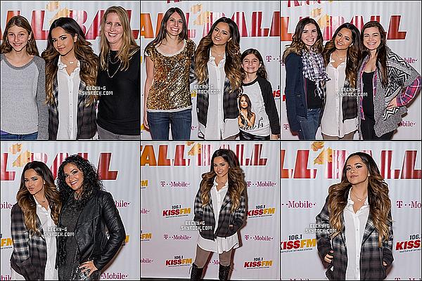 14 / 11 / 15 :NotreBeckya été à l'événement de la radio106.1 pour les Kiss FM Fall Ball 2015. Beckya perfomée sur scène pendant cette événement cependant, elle a rencontrée ses fans avec un Meet & Great + Interview.