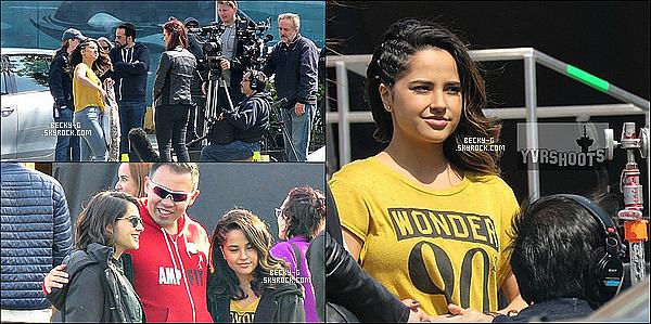 27 / 04 / 16 :Beckyaété photographié au moment des enregistrements du film Power Rangers. Beckyest devenu actrice & oui, elle est très talentueuse. Elle jouera dans ce film au coté de Naomi Scott. Le film sort en 2017.