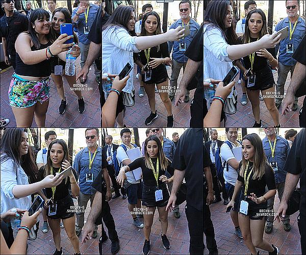22 / 07 / 16 :Beckya été vue en quittant son hotel pour se diriger à la Comic-Con de San Diego. Becky & le castauront une deuxième journée à la comic con eh oui cela dur au moins 2 jours ou plus. Ils seront là pour leur fans.