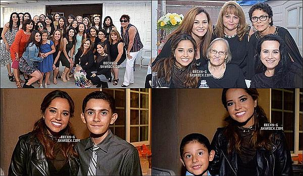"""30 / 07 / 16 :Beckya été à la radio latino """"Las Super 20 de la semana"""" pour une interview. Beckytoute souriante était au Top lors de cette événement. J'aime beaucoup. Elle a donnée une interview ou peut être chantée."""