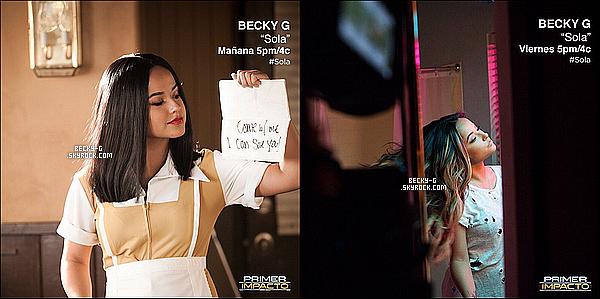 """Voici en exclusivité le tout nouveau clip de Becky G nommé """"Sola"""" de son premier album. Avis ? Beckya été super dans ce clip, le thème correspond bien à la musique. eh oui notre Becky maintenant chante en espagnol. Au TOP !"""