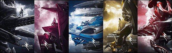 Une autre affiche officiel du film Power Rangersou Becky (Trian) y jouera dedans a étédévoilé. Une affiche pour chaque personnages du film avec la couleur de leur combinaison. Je les trouve très réussi & créative donc un TOP !