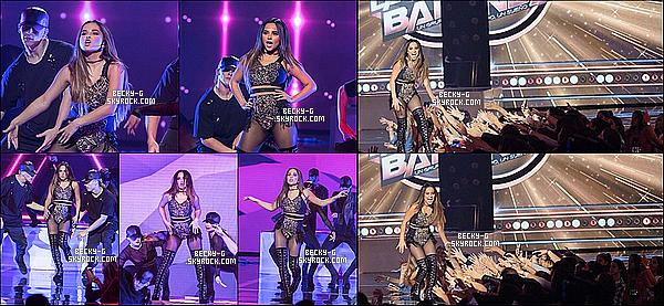 """30 / 10 / 16 :Beckysublime a été performer son tube Mangù & Sola à l'émission """"la Banda"""". Beckya performer le tube du moment """"Mangù"""" & """"sola""""lors d'une émission latine. Elle a bien bouger sur ce dance floor, Au TOP !!"""