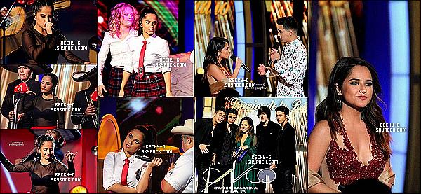 """03 / 11 / 16 :Beckya été avec son chériSebastien sur le capet des Premios De La Radio. Beckya été sublime lors de cette événement. Elle a pu perfomer """"Mangu"""" & aussi remettre un prix au gagnant. Bebastien sont mimi."""