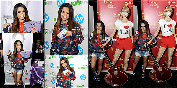 05 /12 / 14 :  Becky  a été au salon de Jingle Ball  de la radio KIIS FM au Staples Center à LA. Becky a été avec le sourire,  au salon ouvert de l'événement de Jingle Ball par KIIS FM à LA. On peut la voir aussi au Backstage. TOP